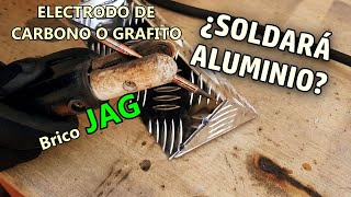 Welding Aluminum with Carbon or Graphite Electrode (Arcair) | TIG welding tricks | Graphite