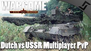 Dutch vs USSR Multiplayer PvP Gameplay - Wargame: Red Dragon Netherlands DLC Gameplay