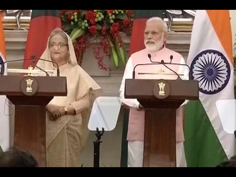PM Modi and Bangladesh PM Sheikh Hasina addresses joint press statements, exchange of 22 a