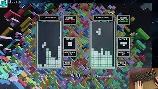 Tetris Effect Connected: Slow Progress at Classic