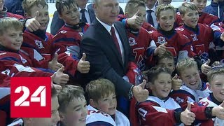 Урок от президента: Путин пообщался со школьниками