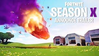 Fortnite SEASON 10 Official Trailer! (Fortnite Battle Royale)