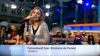 Emmelie de Forest - Wildfire (Live) ft. Fahrenhaidt