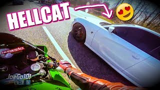 homepage tile video photo for IS HER 707hp HELLCAT FASTER?...