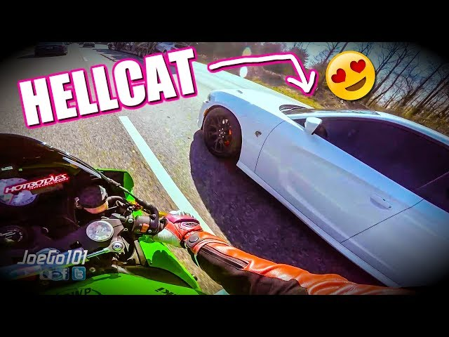 IS HER 707hp HELLCAT FASTER?...