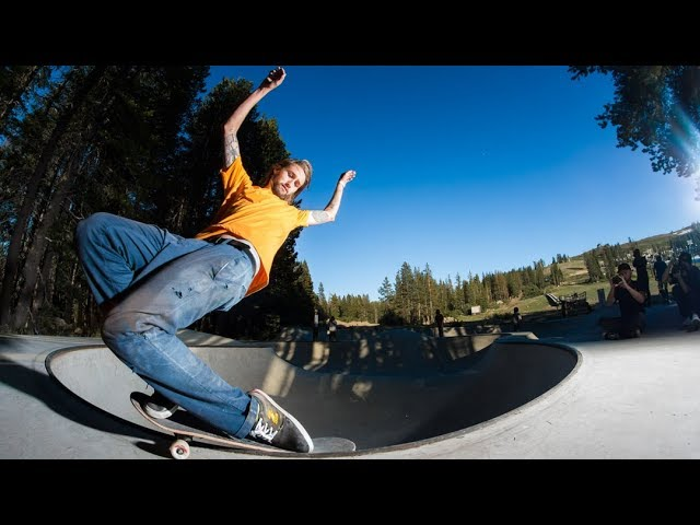 VIP: Blood Wizard Skateboards - Woodward Tahoe