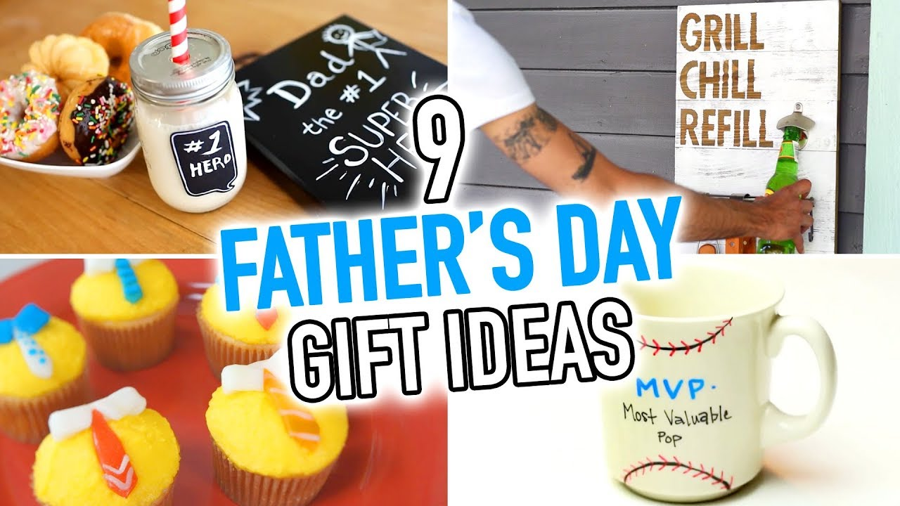 9 DIY Father's Day Gift Ideas