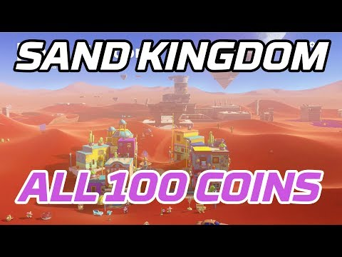[Super Mario Odyssey] All Sand Kingdom Coins (100 Purple Local Coins)