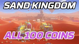 [Super Mario Odyssey] All Sand Kingdom Coins (100 purple local coins)