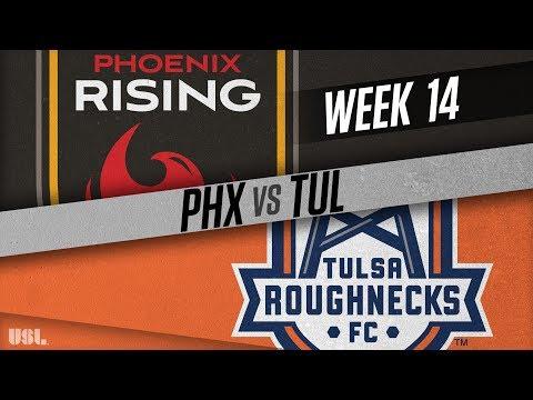 Phoenix Rising FC vs Tulsa Roughnecks FC: June 16, 2018