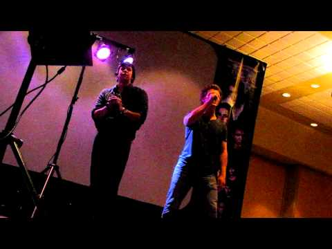 Charlie Bewley & Chaske Spencer Singing Karaoke