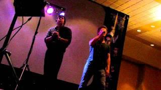 Charlie Bewley & Chaske Spencer Singing Karaoke