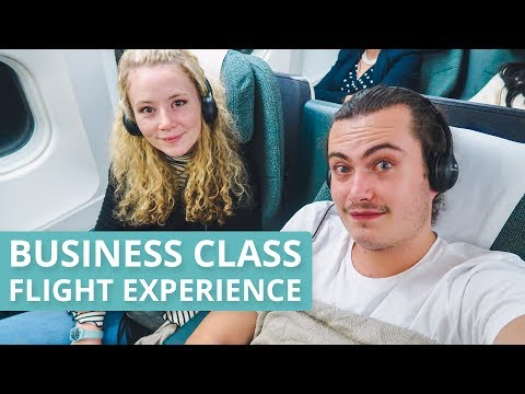 BUSINESS CLASS FLIGHT EXPERIENCE - CATHAY PACIFIC