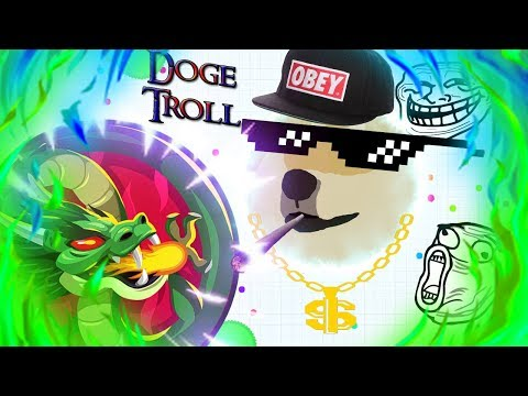 AgarIO Hub: Crazy Line Pop And *NEW* Doge Troll 🔥