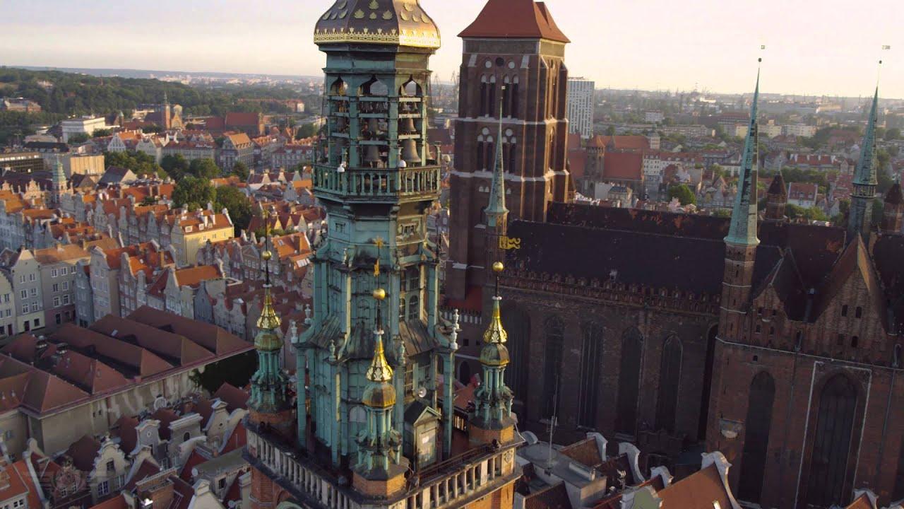 Danzig Wallpaper Hd Gdańsk Z Lotu Ptaka 4k Gdansk From Above 4k Poland Youtube