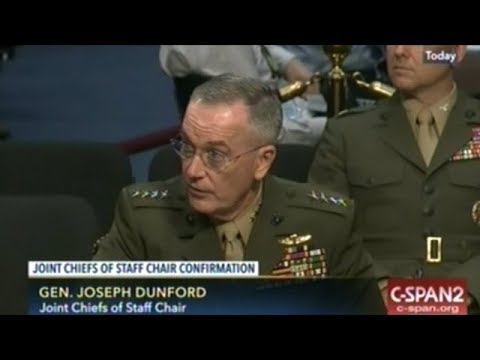 U.S. Top Military Officer Testifies