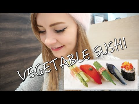 VEGETABLE SUSHI // Food for Vegetarians & Vegans in Tokyo