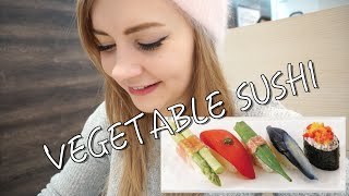 VEGETABLE SUSHI // Food for Vegetarians & Vegans in Tokyo