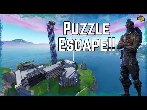 Impossible Puzzle Escape Fortnite Creative Fortnite Tracker