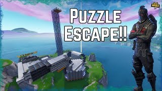 Impossible Puzzle Escape Challenge! Created for SSundee with a Code! Fortnite Creative