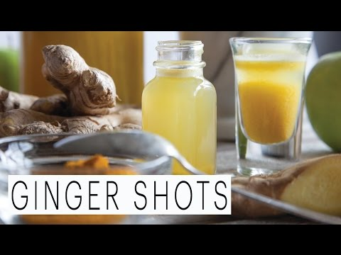 Ginger Tumeric Shots | The Edgy Veg