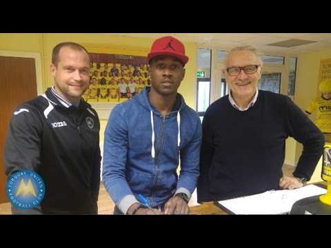Inside TQ1 - Toby Ajala signs for Torquay United 04/01/16
