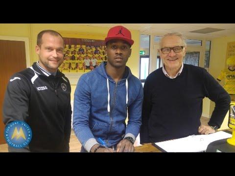 Inside TQ1 - Toby Ajala signs for Torquay United 04/01/16