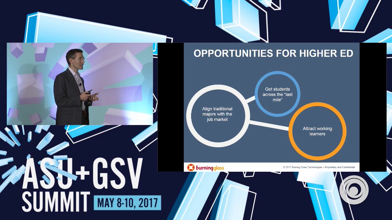 ASU GSV Summit: Burning Glass