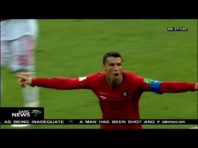 Hat-trick hero Cristiano Ronaldo denies Spain in six-goal thriller