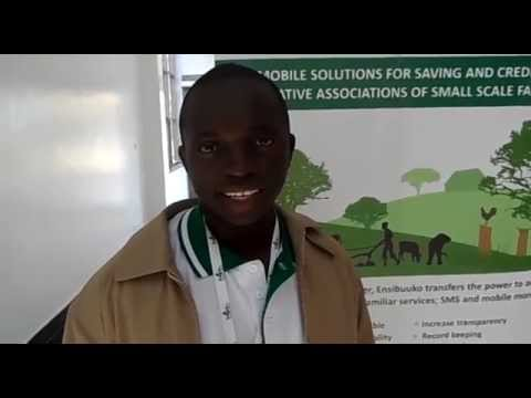 Integrating SMS and mobile money with Ensibuuko