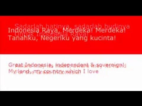 Lagu Indonesia Raya versi Asli 3 Stanza