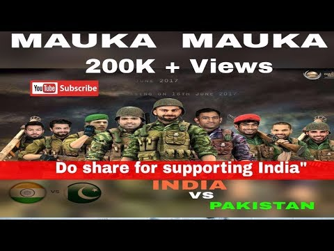 Mauka Mauka | India vs Pakistan | ICC Champions Trophy 2017 | Father's Day Special | #TVFODDIYA