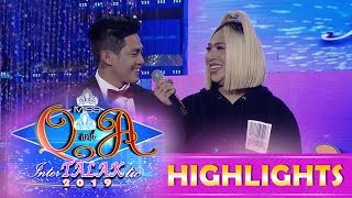 It's Showtime Miss Q and A: Vice wants to meet Kuya Escort Ion's parents