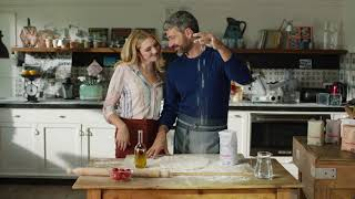 Luca Argentero fantasista in cucina per Molino Casillo con Cannizzo Produzioni