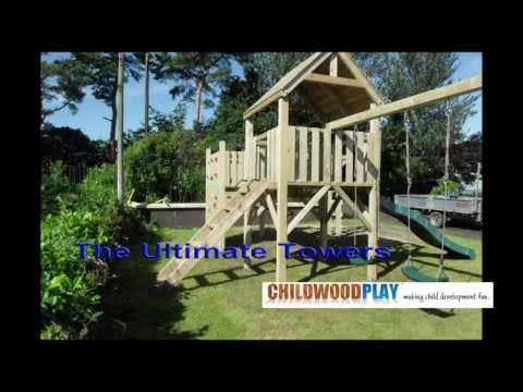 ChildWood Play Climbing Frames