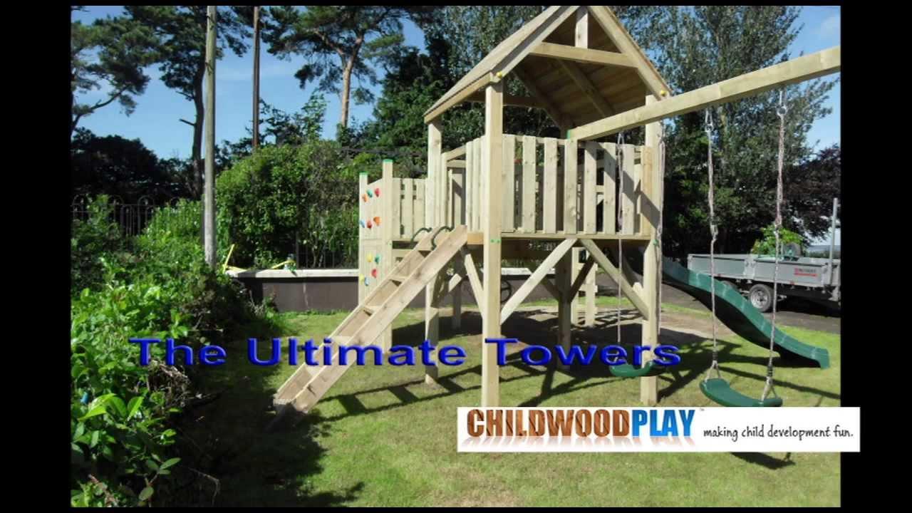 ChildWood Play Climbing Frames - YouTube