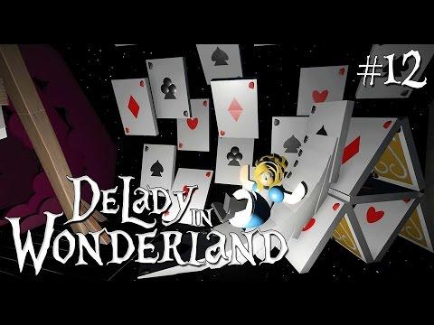 12. Planet Coaster: DeLady in Wonderland (ft. SPRidley) - Alice in Wonderland Dark Ride - Ep. 5