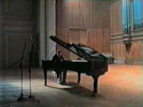 Igor Kamenz plays Liszt, Etude d'exécution transcendante no 10 in f minor