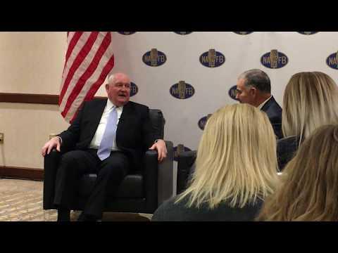 Ag Secretary Sonny Perdue talks trade