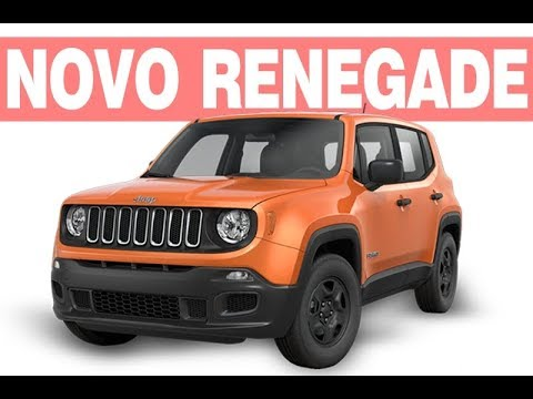 novo jeep renegade 2018 2019 ficha t cnica pre o consumo youtube. Black Bedroom Furniture Sets. Home Design Ideas