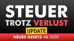 Steuer trotz Verlust - UPDATE zur Einkommenssteuer 2021