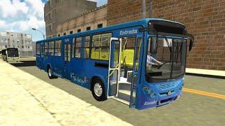 Proton Bus Simulator-torino 2007 Pintura Azul De Bh Linha 614
