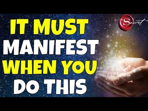 LAW OF ATTRACTION MESSAGE FROM THE UNIVERSE (The Secret)