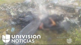 Supuestos narcotraficantes derrumban helicóptero del Gobierno de Michoacán thumbnail