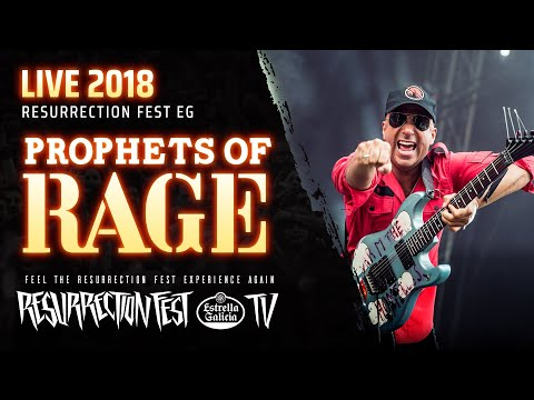 Prophets of Rage - Killing In The Name (ft. Frank Carter) (Live at Resurrection Fest EG 2018)