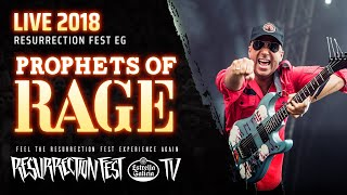 Скачать Prophets Of Rage Killing In The Name Ft Frank Carter Live At Resurrection Fest EG 2018