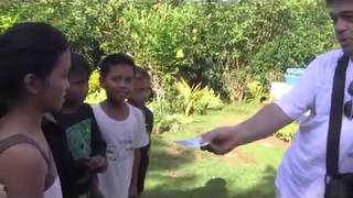 MITCH FROM AUSTRALIA GIVE 200 PESOS EACH TO THE KIDS OF VILLAGE OF HOPE EXPAT PHILIPPINES