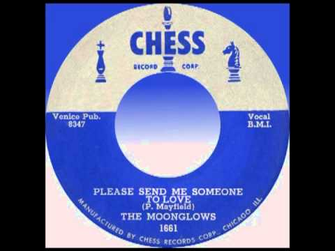 PLEASE SEND ME SOMEONE TO LOVE, The Moonglows, Chess #1661  1956