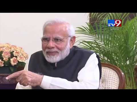 PM Modi's first interview of 2019 - TV9