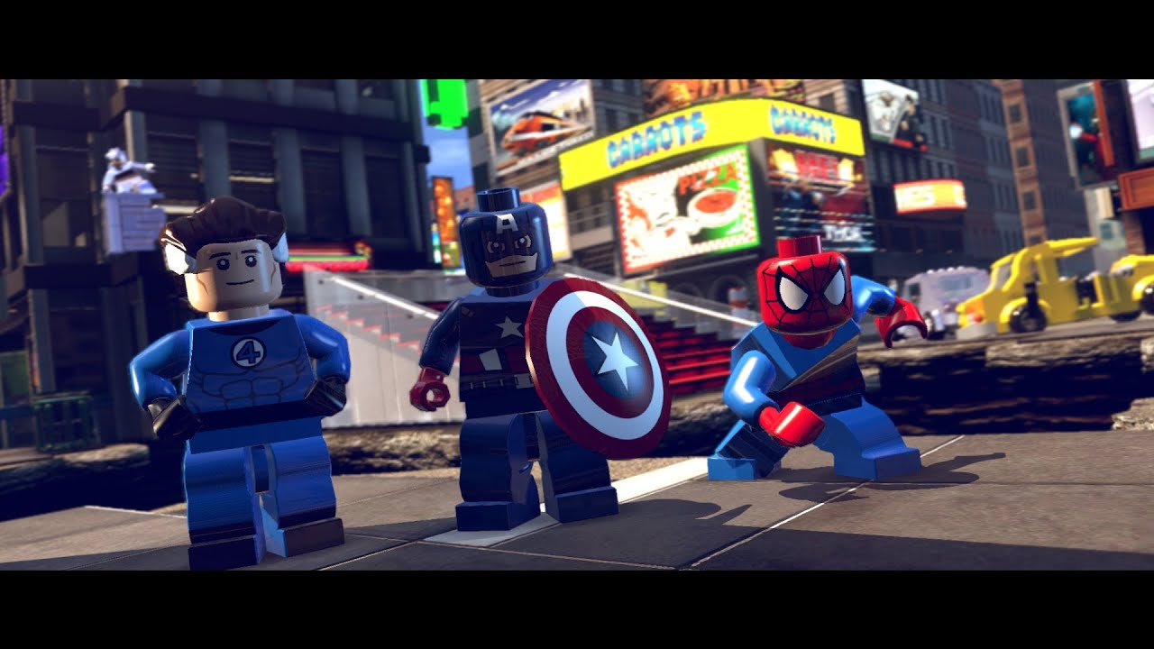 marvel lego times square off